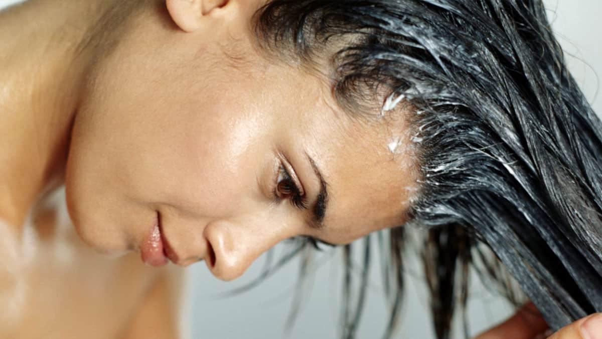Пилинг солью для волос